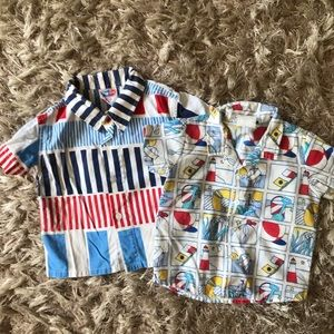 Vintage 1980s Button Down Shirts